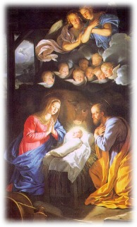Nativité Ph de Champaigne mail Noël 2001